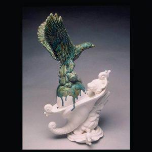 Ornament, ceramic, 2011