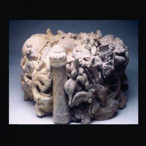 in the round, ceramic, 2011