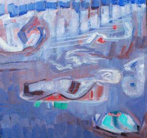 #1389 Sibelius, VALSE TRISTE op. 44, acrylic on canvas