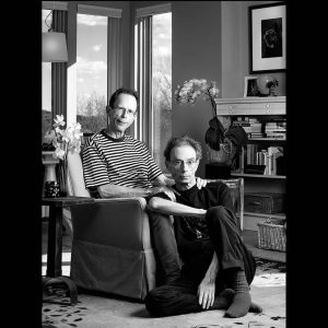 Jack and David, together with AIDS for 24 years, digital photo, archival inkjet print, 2012