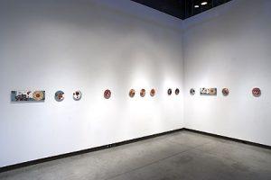 """D-E-S-I-R-E, 2009, Mixed Media Installation, 8"""" x 24'"""