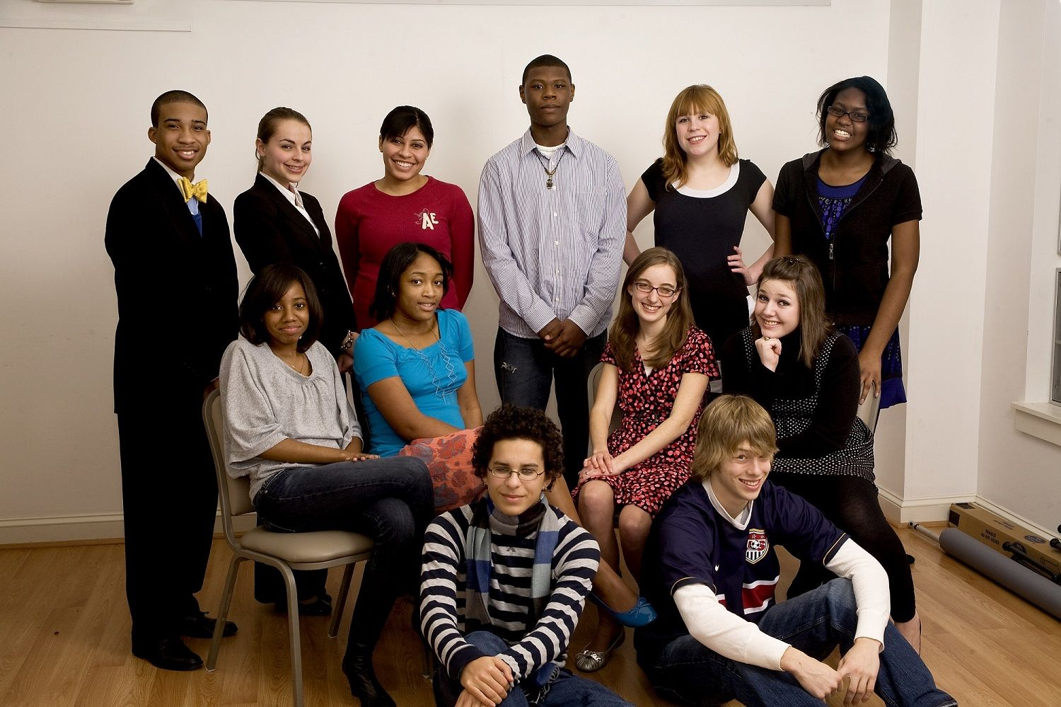 2009 Poetry Out Loud Group Photo