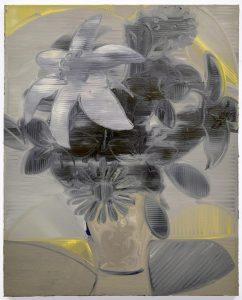 "Twilight Bouquet, 2016, Oil on Canvas, 20"" x 16"" x 2"""