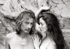 "Bruce and Shirley Jo, 2014 gelatin-silver photographic print 24"" x 18"" x 2"""