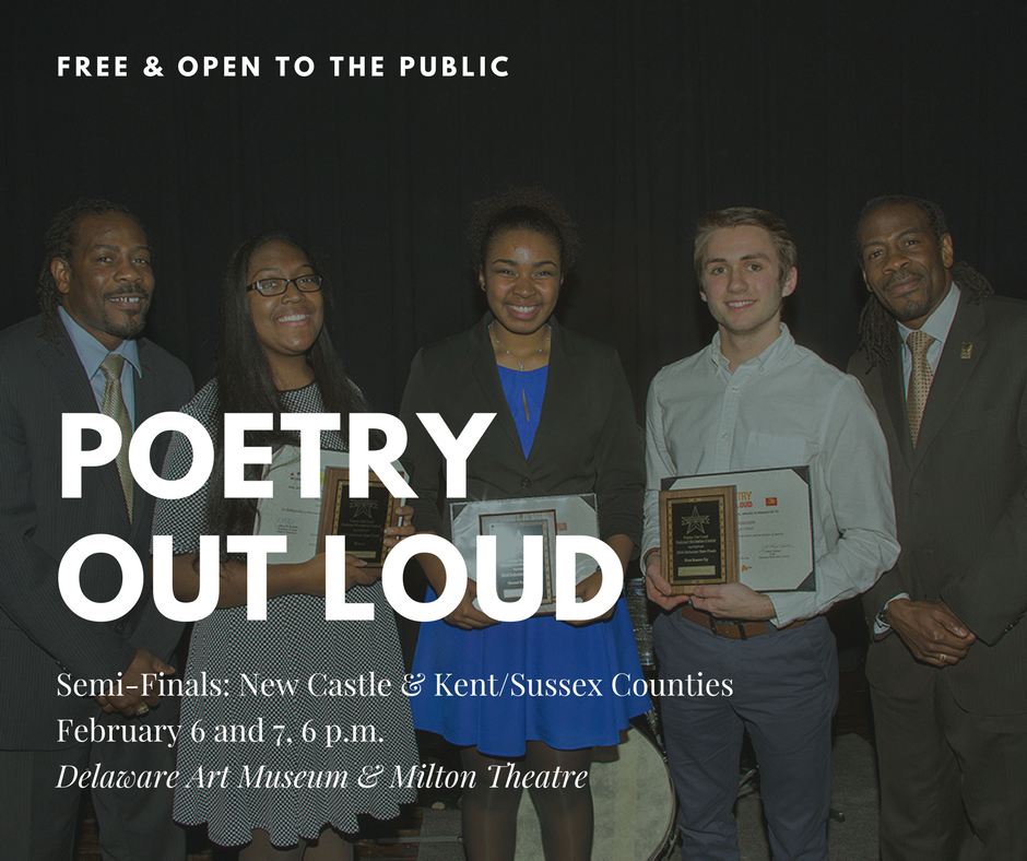 Poetry Out Loud Semi-Finals