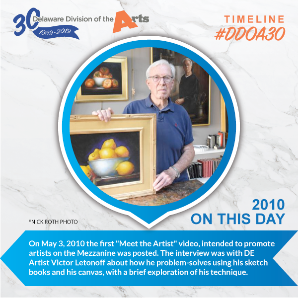 Timeline: Meet the Artist - Delaware Division of the Arts
