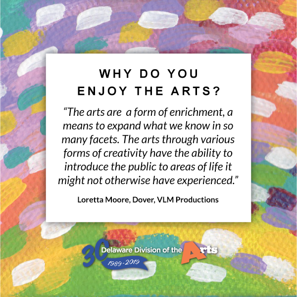 why do you enjoy the arts?