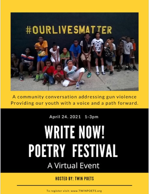 Write Now! Poetry Festival Poster
